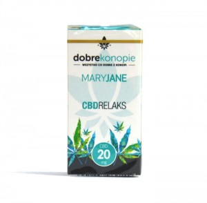 ELIQUID MARY JANE 20 MG. CBD RELAKS 10 ML.